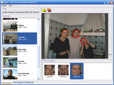 faint - The Face Annotation Interface
